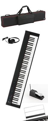 ■ご予約受付■ 【専用バッグセット】 Korg(コルグ) / D1 スピーカーレス デジタルピアノ 「譜面立て・ダンパーペダル・ヘッドホン付き」 1大特典セット