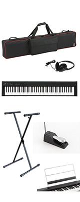 ■ご予約受付■ 【専用バッグ&X型スタンドセット】 Korg(コルグ) / D1 スピーカーレス デジタルピアノ 「譜面立て・ダンパーペダル・ヘッドホン付き」 1大特典セット