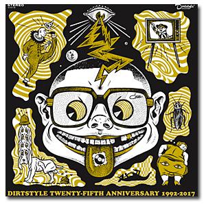 DJ QBert / DIRTSTYLE 25TH ANNIVERSARY 2LP  - バトルブレイクス -
