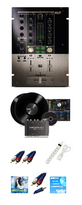 Reloop(リループ) / KUT & Denon(デノン) / DS1 Serato DJ スクラッチセット