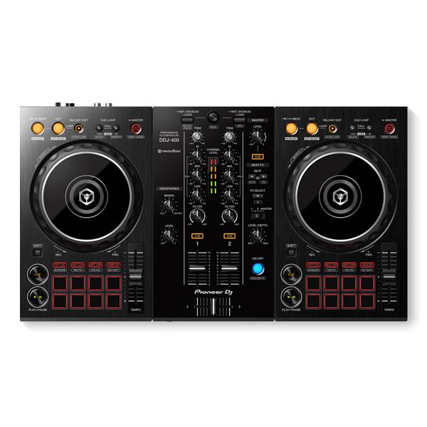 Pioneer(パイオニア) / DDJ-400 【REKORDBOX DJ 無償】- PCDJコントローラー