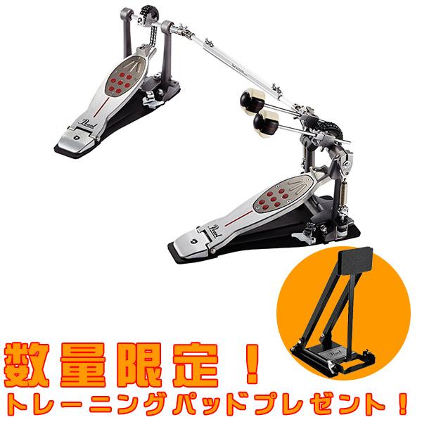 【数量限定/トレーニングパッド付き!】Pearl(パール) / P-2052C Eliminator Demon Chain Double Pedal ツインペダル