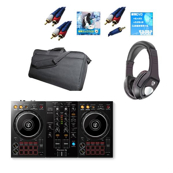 Pioneer(パイオニア) / DDJ-400 激安初心者モバイルCセット  (REKORDBOX DJ 無償)