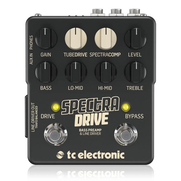 TC Electronic(ティーシーエレクトロニック) / SPECTRA DRIVE - ベース用プリアンプ/ラインドライバー/コンプレッサー - 1大特典セット
