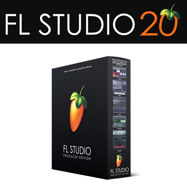 Image-Line(イメージライン) / FL Studio 20 Producer 【通常版】 DTM音楽ソフト DAW