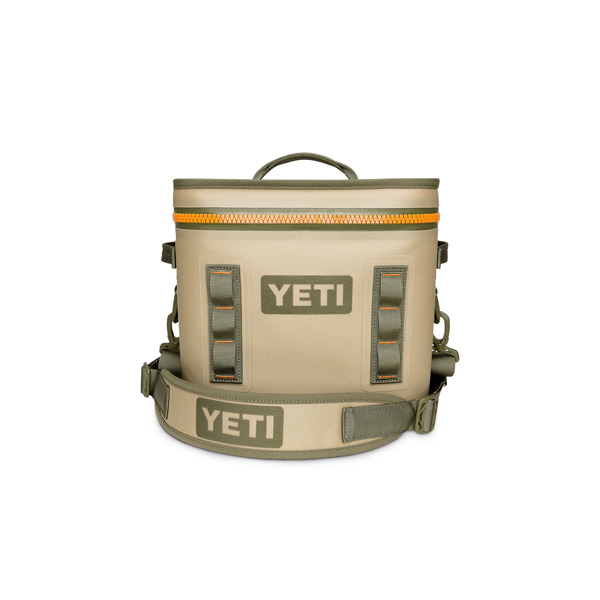 YETI COOLERS(イエティクーラーズ) / Hopper Flip 8 Portable Cooler (Field Tan / Blaze Orange) - クーラーボックス -