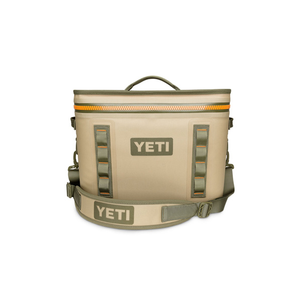YETI COOLERS(イエティクーラーズ) / Hopper Flip 18 Portable Cooler (Field Tan / Blaze Orange) - クーラーボックス -