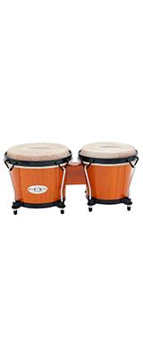 """TOCA(トカ) /  Synergy Wood Bongos - Amber 6+6-3/4"""" [2100AMB] ボンゴ"""