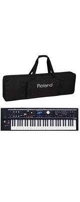 【純正ケースセット】 Roland(ローランド) / V-COMBO VR-09-B - 電池駆動 61鍵 ライブパフォーマンス・キーボード - 1大特典セット