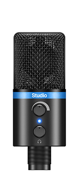 IK Multimedia(アイケーマルチメディア) / iRig Mic Studio ブラック - iOS / Android / PC 対応マイク -