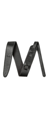 "FENDER(フェンダー) / ARTISAN CRAFTED LEATHER STRAPS - 2.5"" (Black) - ギターストラップ -"