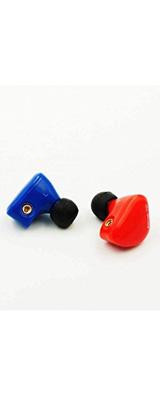 iBasso Audio(アイバッソ オーディオ) / IT01 (Blue/Red) - MMCX対応 イヤホン - 1大特典セット
