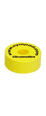 "CYMPAD(シンパッド) / Chromatics  Cymbal Washer ""Yellow"" 40×15mm 5個セット [LCYMCRM5SET15YE] クロマティクス  イエロー - シンバルワッシャー-"