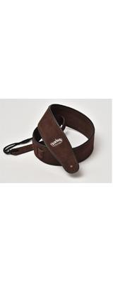 Headway(ヘッドウェイ) / Suede Leather Strap HW-5000 (Dark Brown) - ギターストラップ -