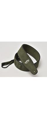 Headway(ヘッドウェイ) / Suede Leather Strap HW-5000 (Green) - ギターストラップ -