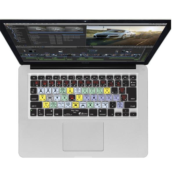 KB Covers / FCPX-M-JIS-CC/MacbookPro FinalCut ProX用(JIS)