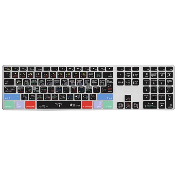KB Covers / LOG-AK-CC/Apple Alumi key Logic Pro/Express用(US)