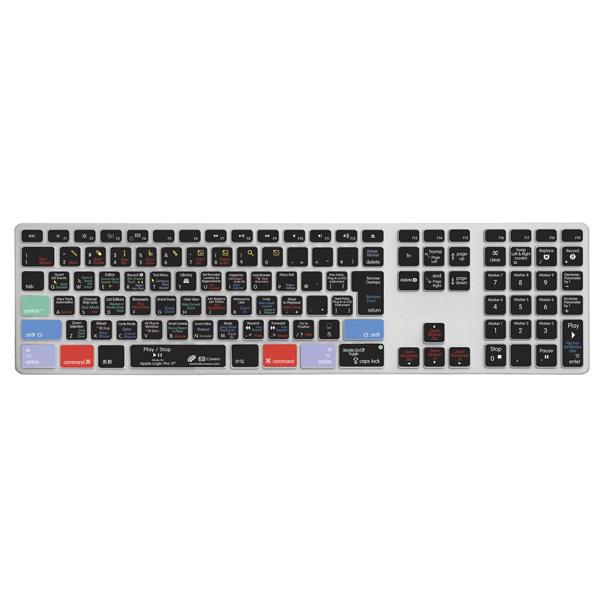 KB Covers / LOGX-AK-JIS-CC/Apple Alumi key Logic Pro X用(JIS)