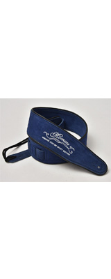 Momose(モモセ) / Suede Leather Strap MS-5000 (Blue) ギターストラップ