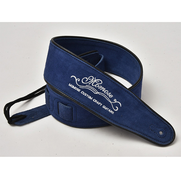 Momose(モモセ) / Suede Leather Strap MS-5000 (Blue) - ギターストラップ -