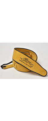 Momose(モモセ) / Suede Leather Strap MS-5000 (Yellow) - ギターストラップ -