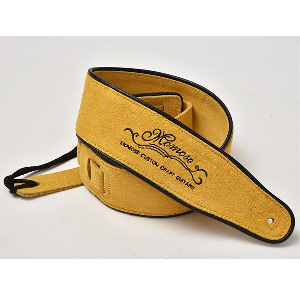Momose(モモセ) / Suede Leather Strap MS-5000 (Yellow) - ギターストラップ -