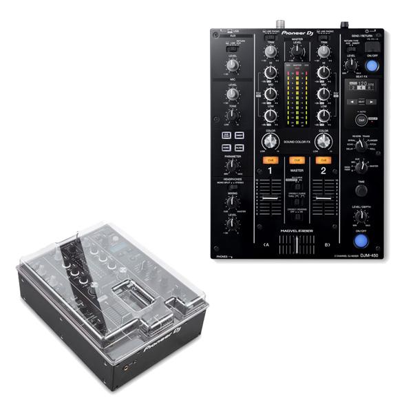 Pioneer(パイオニア) / DJM-450 - DVS機能・エフェクト搭載 DJミキサー-【専用デッキセーバープレゼント!】