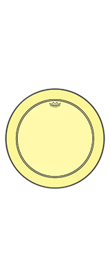 "REMO(レモ) / COLORTONE P3-322B #YE [POWERSTROKE3  Colortone 22"" / Yellow] - ドラムヘッド -"