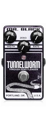 Mr.Black(ミスターブラック) / Tunnel Worm  - 空間系・フランジャー - 《ギターエフェクター》 1大特典セット