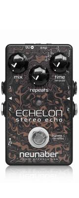 Neunaber Audio Effects(ヌーネイバーオーディオエフェクツ) / Echelon Stereo Echo v2 - ディレイ・エコー- 《ギターエフェクター》 1大特典セット