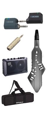 【MOBILE CUBEワイヤレスセット】 Roland(ローランド) / Aerophone GO (AE-05) - エアロフォン / ウィンド・シンセサイザー 1大特典セット