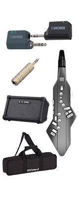 【CUBE STREETワイヤレスセット】 Roland(ローランド) / Aerophone GO (AE-05) - エアロフォン / ウィンド・シンセサイザー 1大特典セット