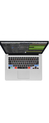 KB Covers / LOGX-M-CC2/MacbookPro Logic Pro X用(US)