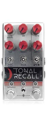 Chase Bliss Audio(チェイスブリスオーディオ) /  Tonal Recall Red Knob Mod -ディレイ・エコー- 《ギターエフェクター》 1大特典セット