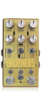 Chase Bliss Audio(チェイスブリスオーディオ) /  Brothers - オーバードライブ - 《ギターエフェクター》 1大特典セット