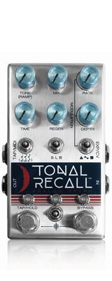 Chase Bliss Audio(チェイスブリスオーディオ) /  Tonal Recall -アナログディレイ- 《ギターエフェクター》 【ACアダプタープレゼント!】 1大特典セット