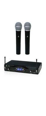K.W.S / KWS-2H/H - ワイヤレスシステム ハンドマイクデュアルタイプ - 1大特典セット