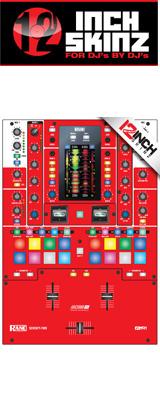 ■ご予約受付■ 12inch SKINZ / Rane SEVENTY-TWO SKINZ (RED) 【SEVENTY-TWO 用スキン】