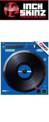 ■ご予約受付■ 12inch SKINZ / Rane TWELVE SKINZ (SINGLE / 1枚) (BLUE) 【TWELVE 用スキン】 ※旧モデル仕様※