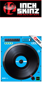 ■ご予約受付■ 12inch SKINZ / Rane TWELVE SKINZ (SINGLE / 1枚) (LITE BLUE) 【TWELVE 用スキン】 ※旧モデル仕様※