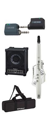 ■ご予約受付■ 【CM-30ワイヤレスセット】 Roland(ローランド) / Aerophone (AE-10) ホワイト - エアロフォン / ウィンド・シンセサイザ ー 1大特典セット