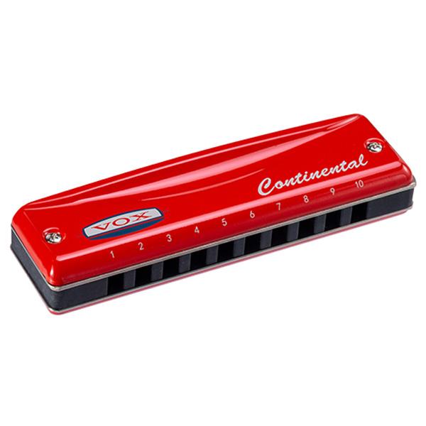 VOX(ヴォックス) / Continental Type 2 Harmonica-C (C調) - 10穴 ハーモニカ ブルースハープ - 【7月28日発売】
