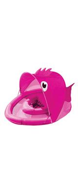 SwimSchool(スイムスクール) / Fun Fish Fabric Baby Boat(ピンク) おさかな 日除け付 浮き輪