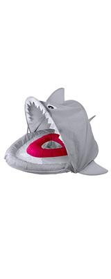 SwimSchool(スイムスクール) / Sparky the Shark Fabric Baby Boat サメ 日除け付 浮き輪