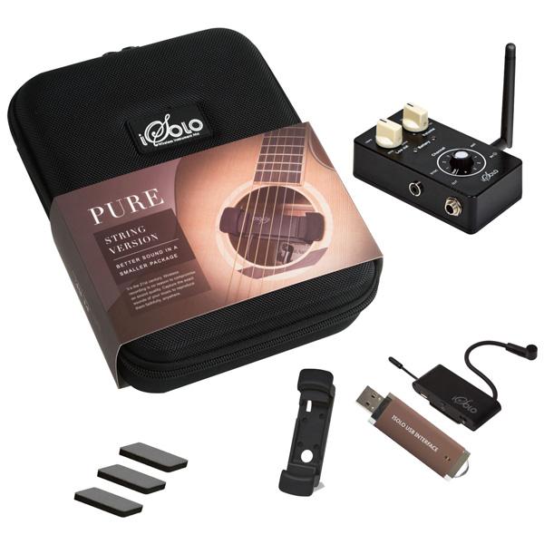 CLOUDVOCAL(クラウドヴォーカル) / iSolo PURE String - 世界最小クラス 弦楽器用 ワイヤレスレコーディングシステム -