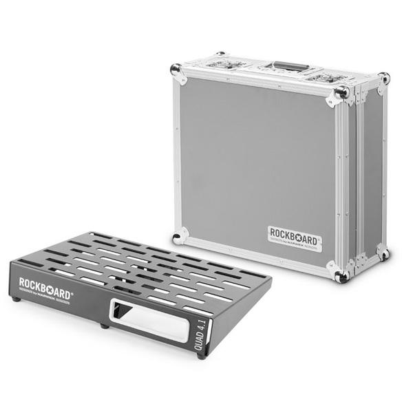Warwick(ワーウィック) / Rock Board QUAD 4.1 46 x 32,6 with Flightcase ペダルボード 【フライトケース付き】