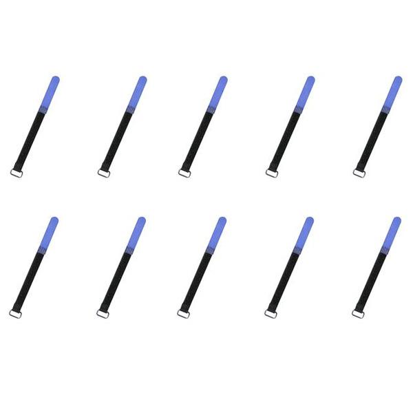 Warwick(ワーウィック) / RockBoard Cable Ties (Blue / 120 x 10mm) 【10本セット】 - ケーブルタイ -