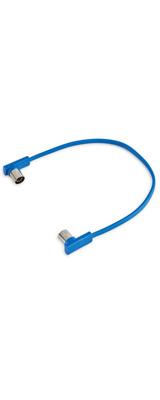 Warwick(ワーウィック) / RockBoard Flat MIDI Cable Blue 30cm - MIDIケーブル -