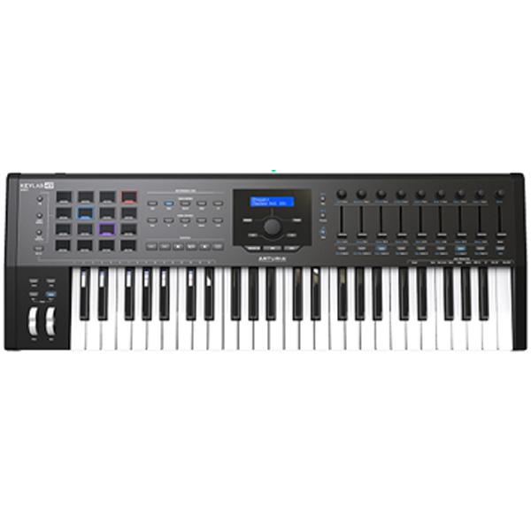 Arturia(アートリア) / KEYLAB 49 MK 2  (Black) - MIDIキーボード・コントローラー 【8月26日発売】