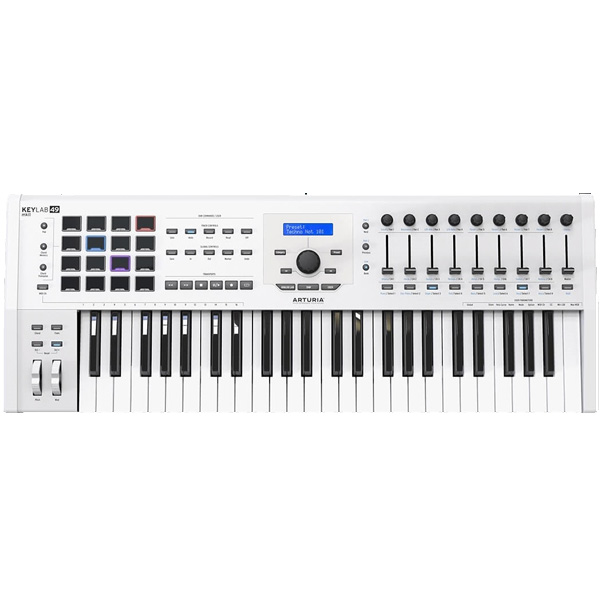 Arturia(アートリア) / KEYLAB 49 MK 2 (White) - MIDIキーボード・コントローラー - 1大特典セット